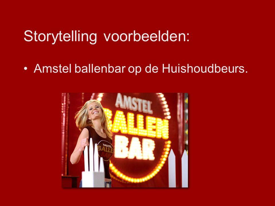 Storytelling voorbeelden:
