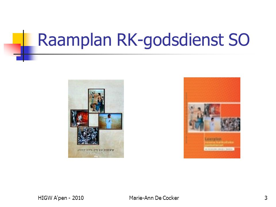 Raamplan RK-godsdienst SO