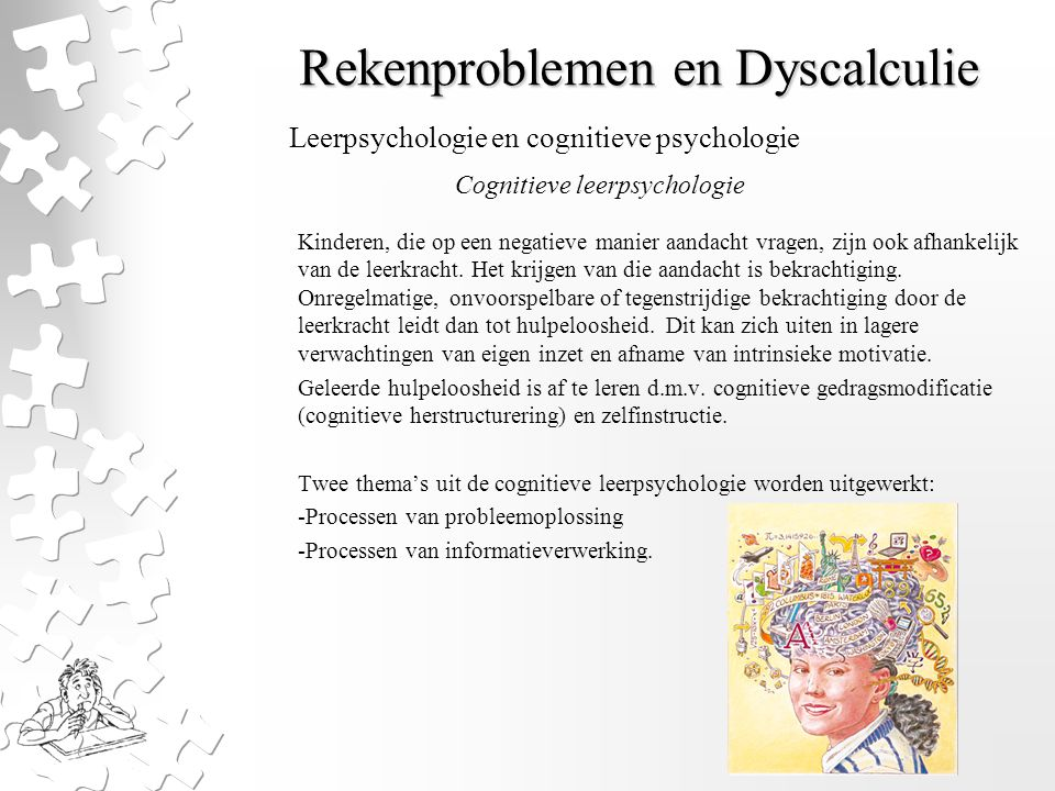 Rekenproblemen en Dyscalculie