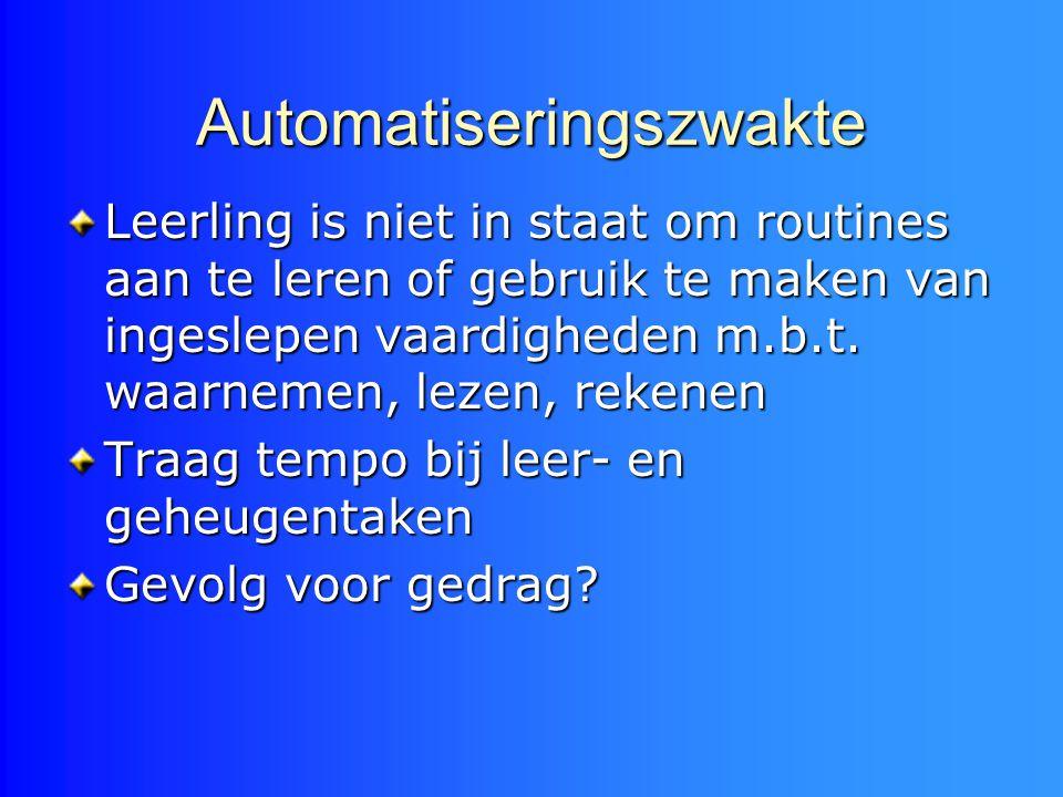 Automatiseringszwakte