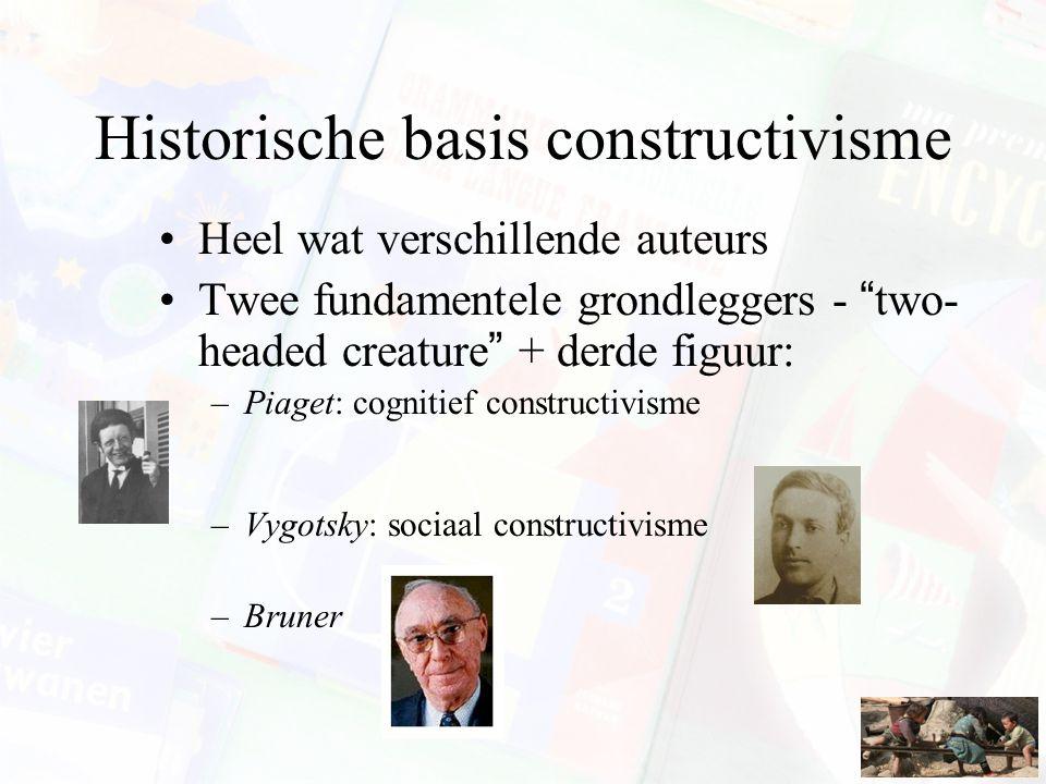 Historische basis constructivisme