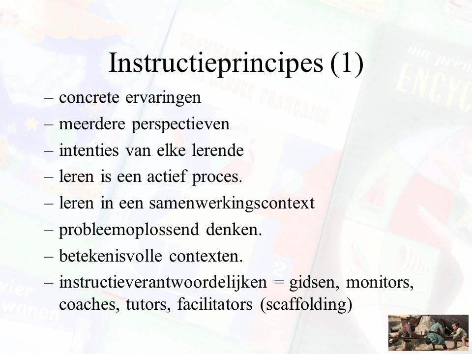 Instructieprincipes (1)