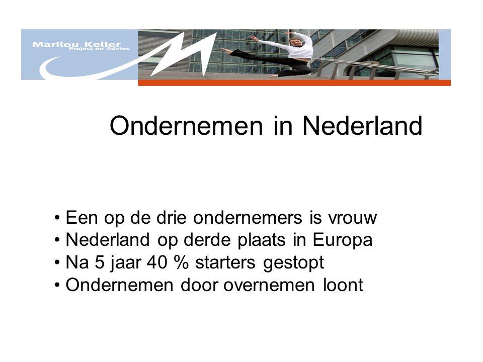 Ondernemen in Nederland