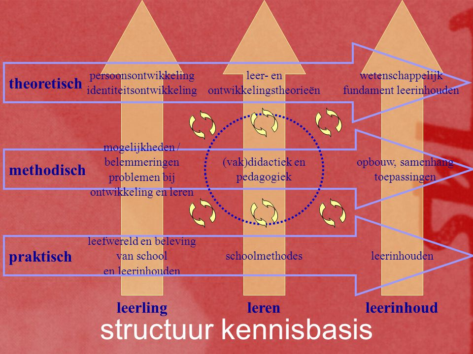 structuur kennisbasis