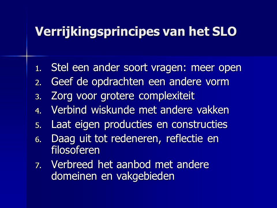 Verrijkingsprincipes van het SLO