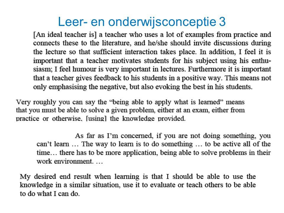 Leer- en onderwijsconceptie 3