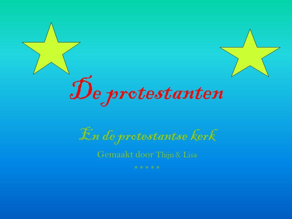 En de protestantse kerk Gemaakt door Thijn & Lisa *****