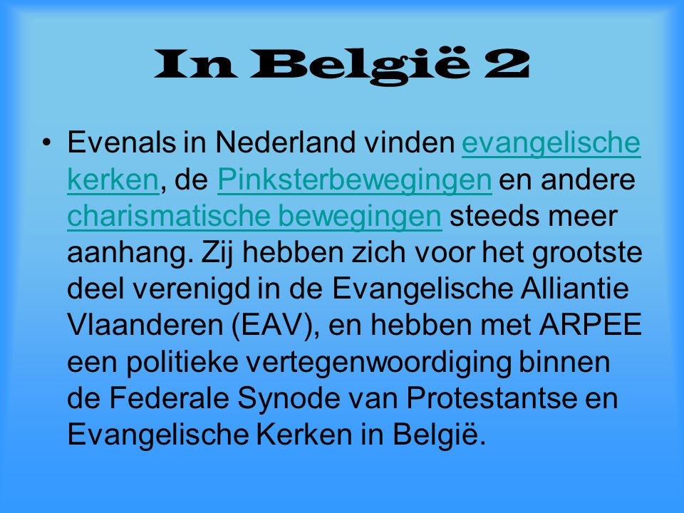 In België 2