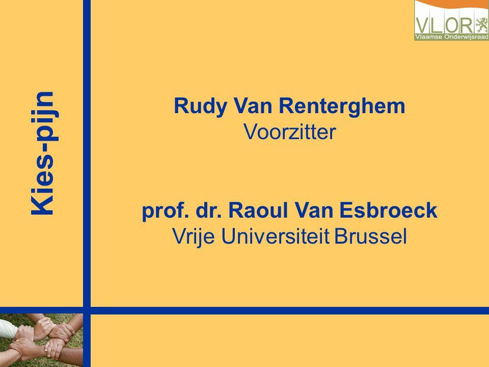 prof. dr. Raoul Van Esbroeck
