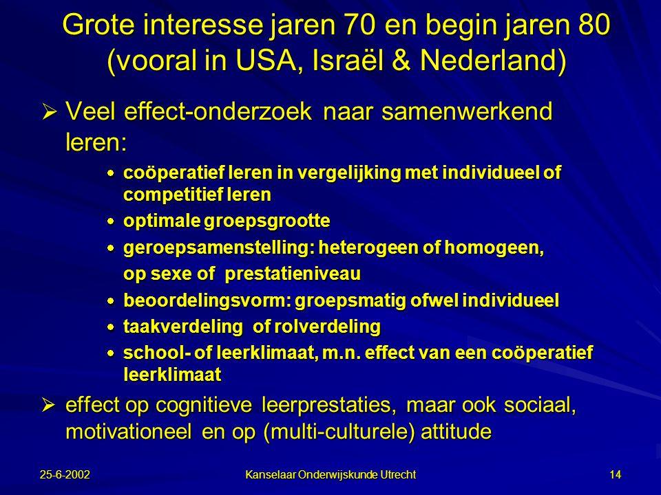 Kanselaar Onderwijskunde Utrecht