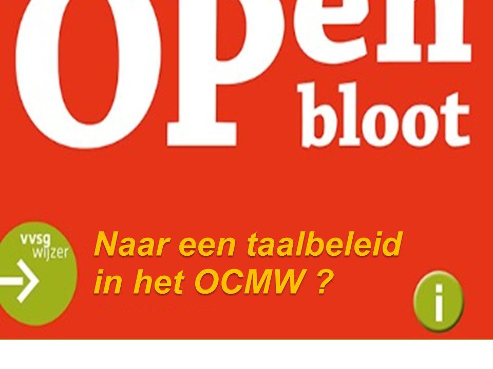 Naar een taalbeleid in het OCMW