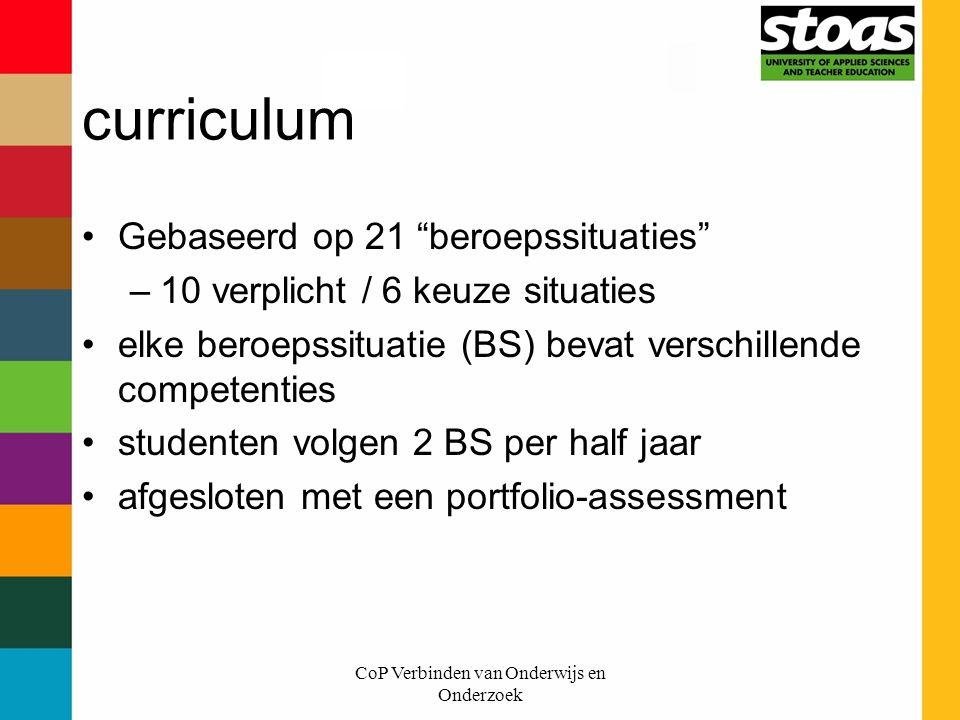 CoP Verbinden van Onderwijs en Onderzoek
