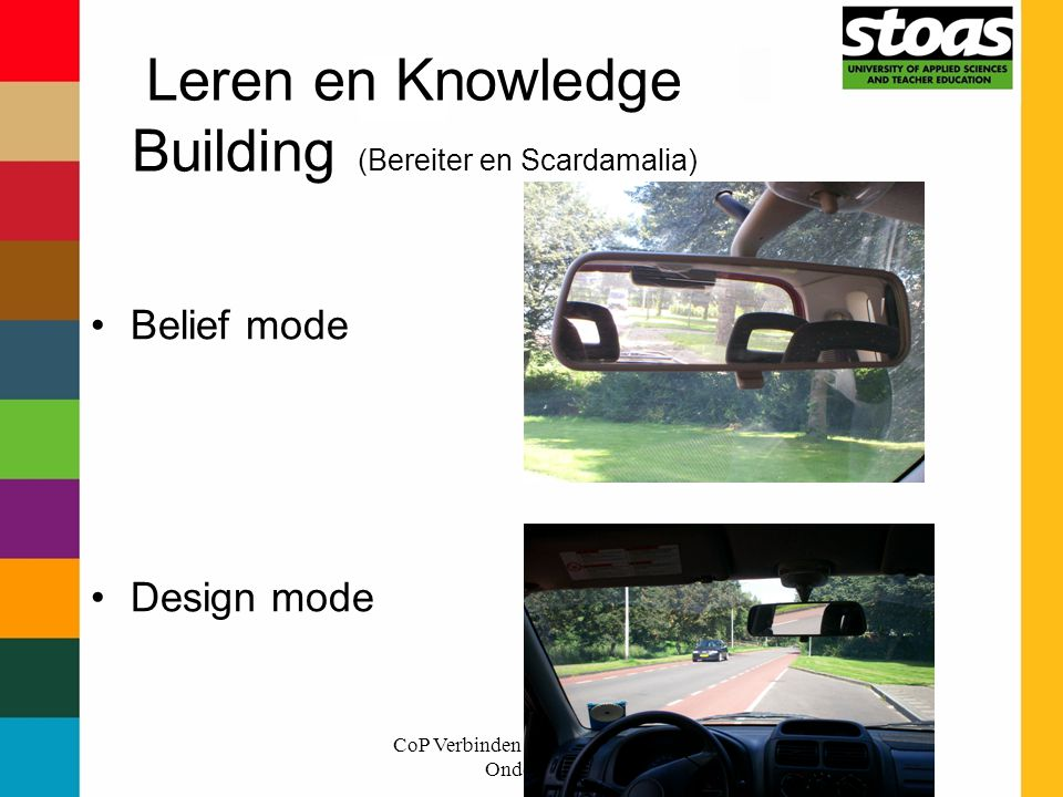 Leren en Knowledge Building (Bereiter en Scardamalia)