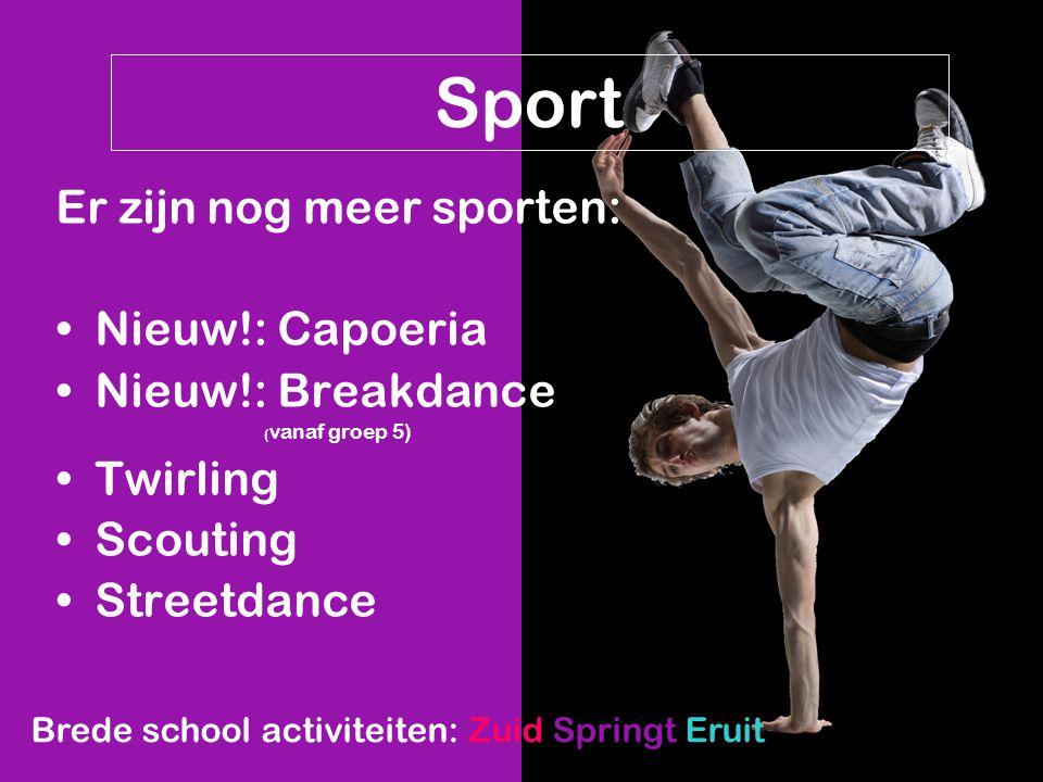 Sport Er zijn nog meer sporten: Nieuw!: Capoeria Nieuw!: Breakdance