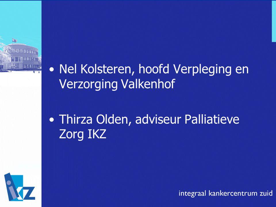 Nel Kolsteren, hoofd Verpleging en Verzorging Valkenhof