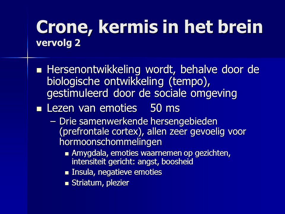 Crone, kermis in het brein vervolg 2