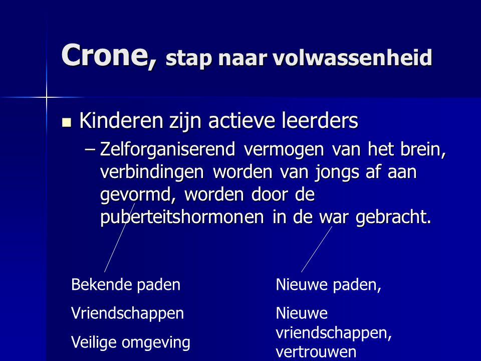 Crone, stap naar volwassenheid