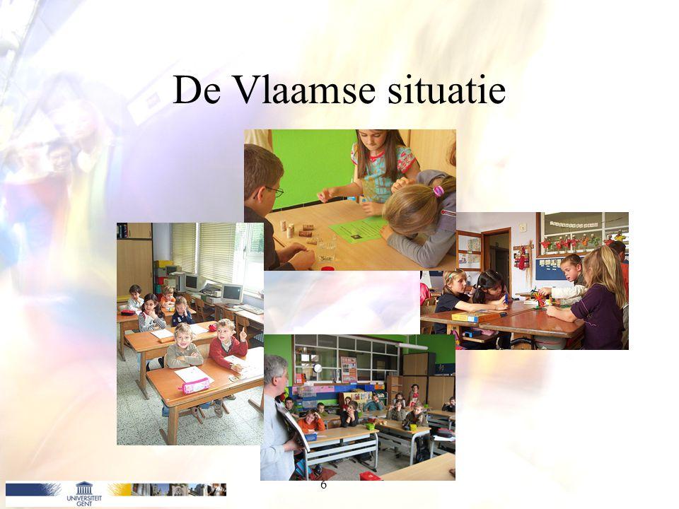 De Vlaamse situatie