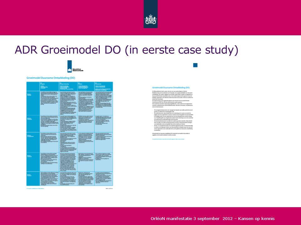 ADR Groeimodel DO (in eerste case study)