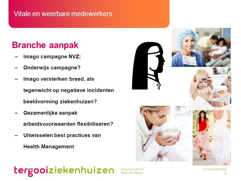 Branche aanpak Imago campagne NVZ; Onderwijs campagne