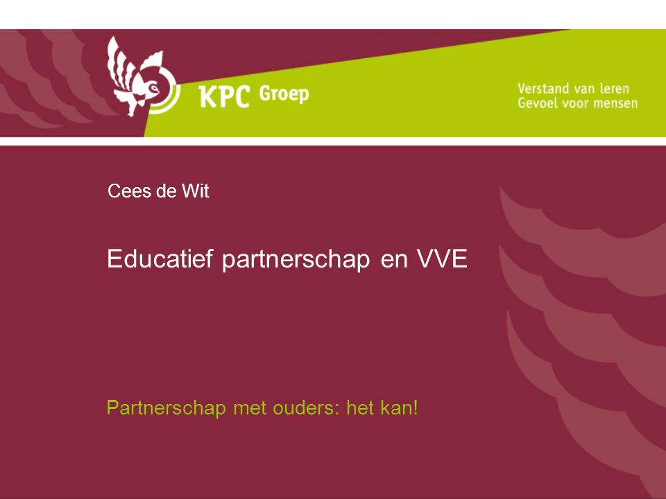 Educatief partnerschap en VVE