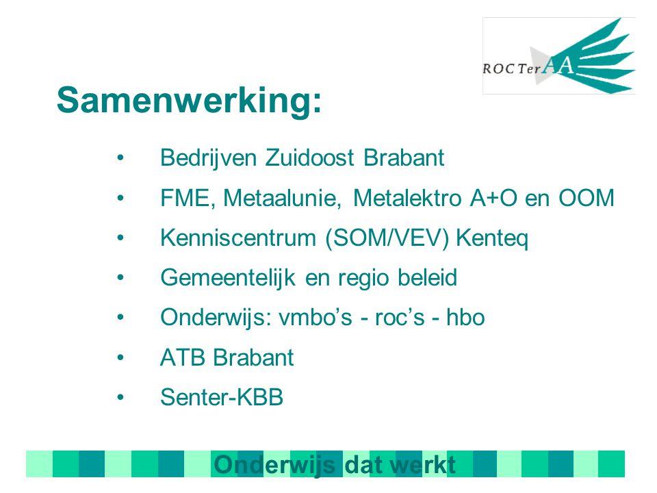 Samenwerking: Onderwijs dat werkt Bedrijven Zuidoost Brabant
