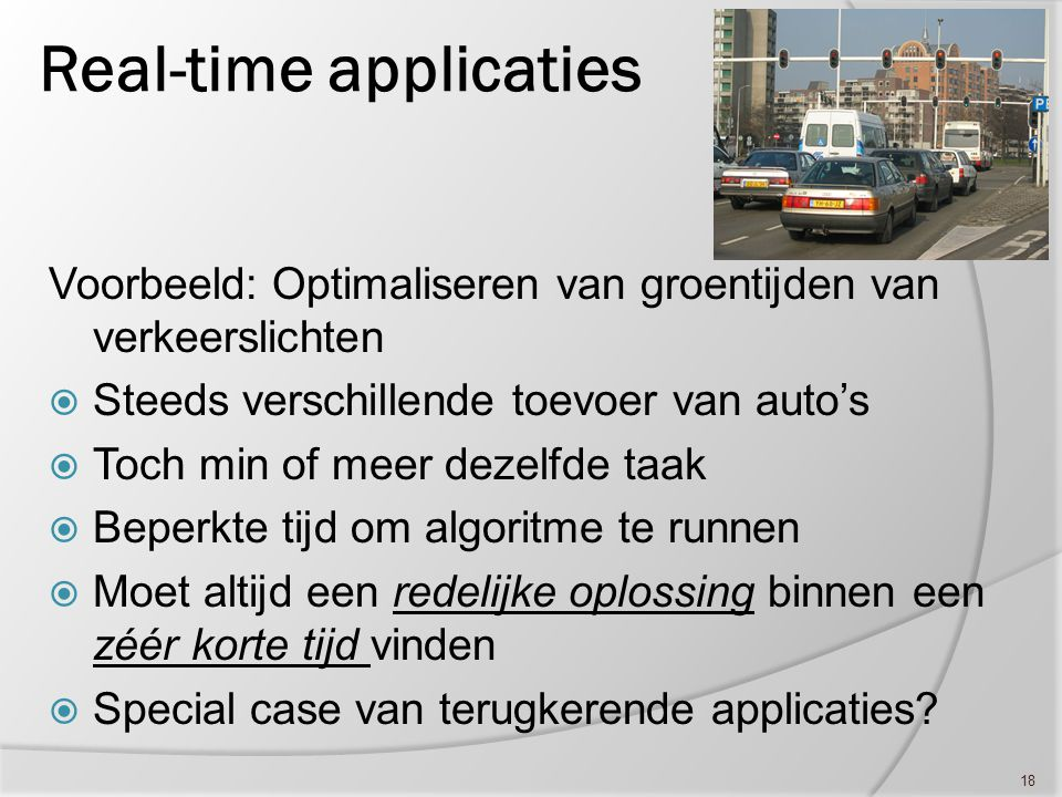 Real-time applicaties
