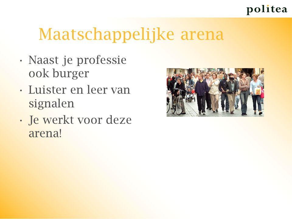 Maatschappelijke arena