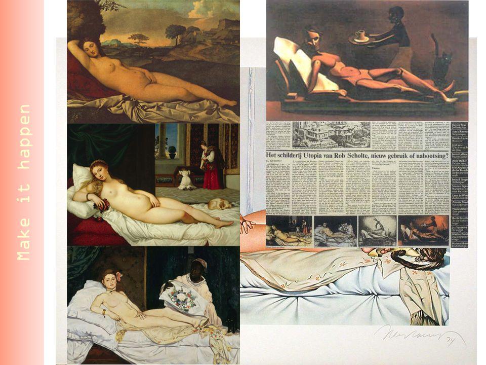 Make it happen Boven: Sleeping Venus, Giorgione, c.