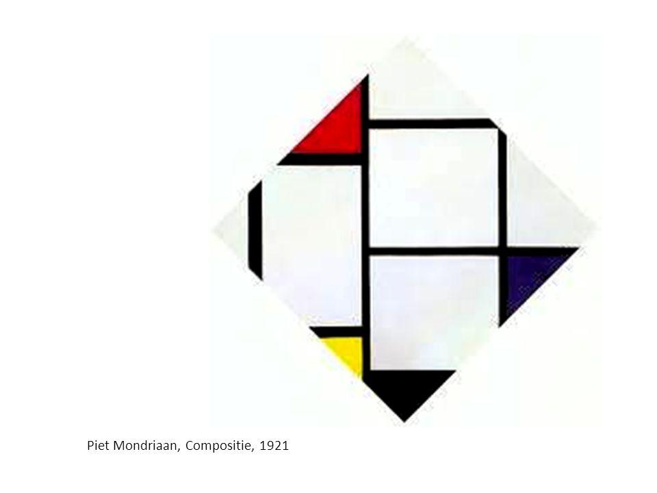Piet Mondriaan, Compositie, 1921