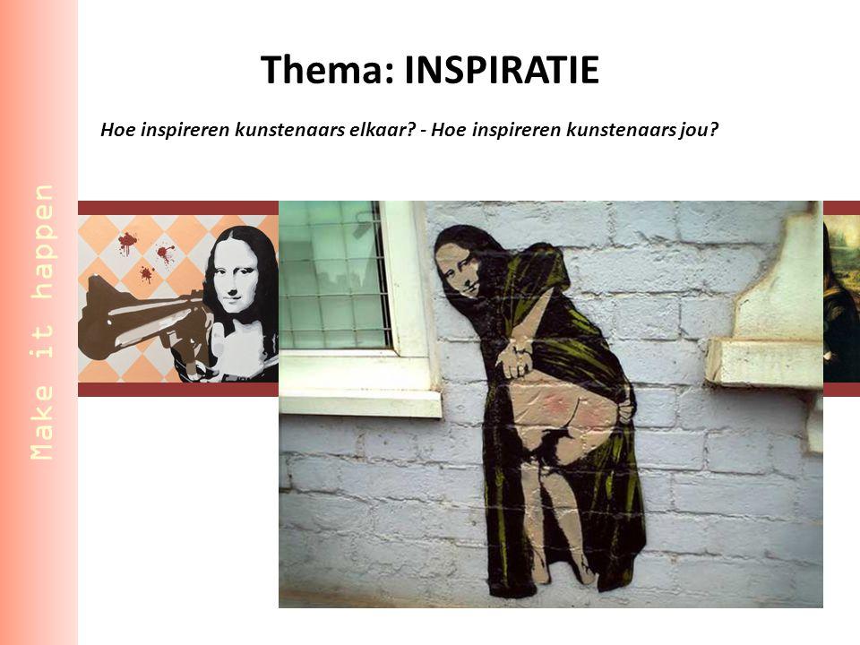Hoe inspireren kunstenaars elkaar - Hoe inspireren kunstenaars jou