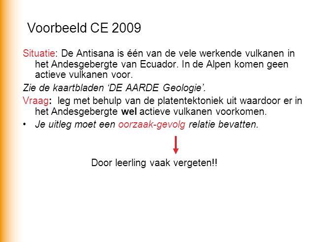 Voorbeeld CE 2009