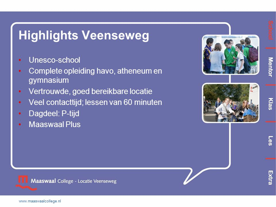 Highlights Veenseweg Unesco-school