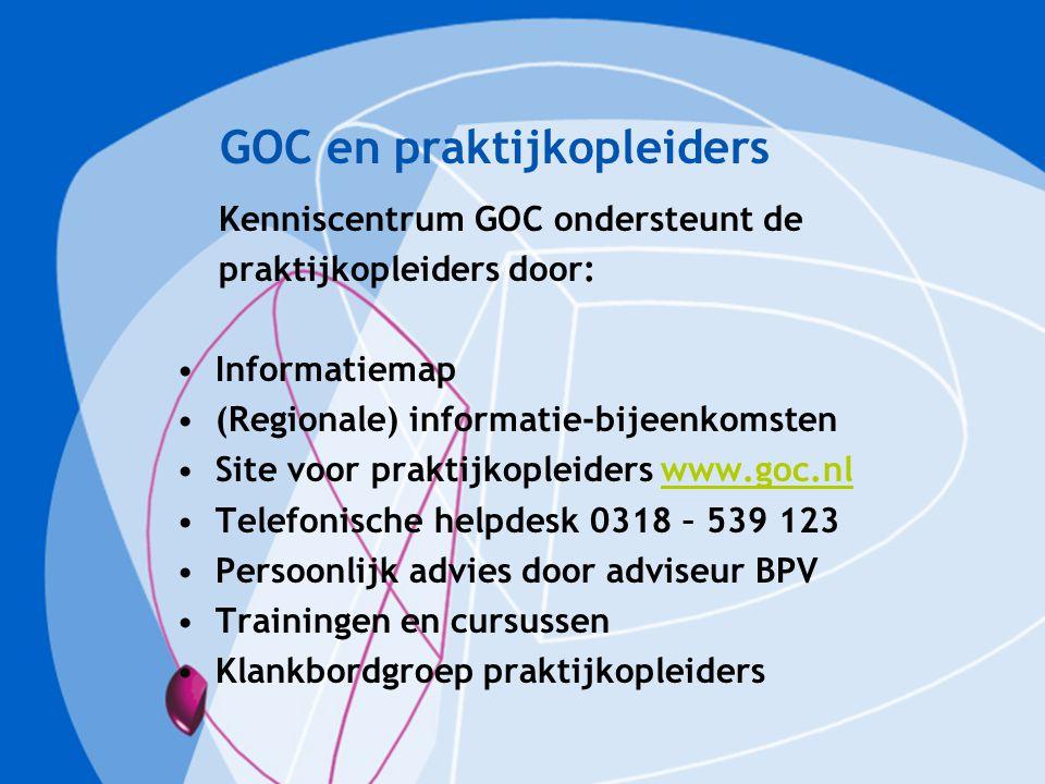 GOC en praktijkopleiders