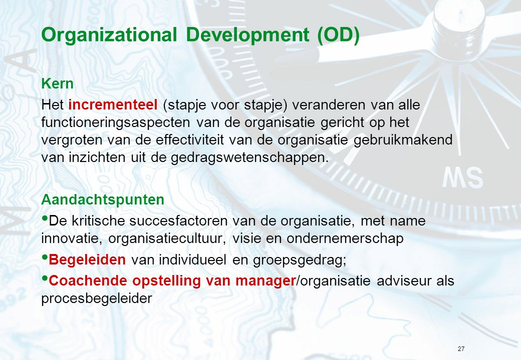 Organizational Development (OD)