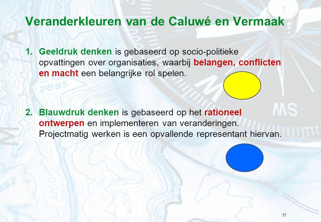 Veranderkleuren van de Caluwé en Vermaak
