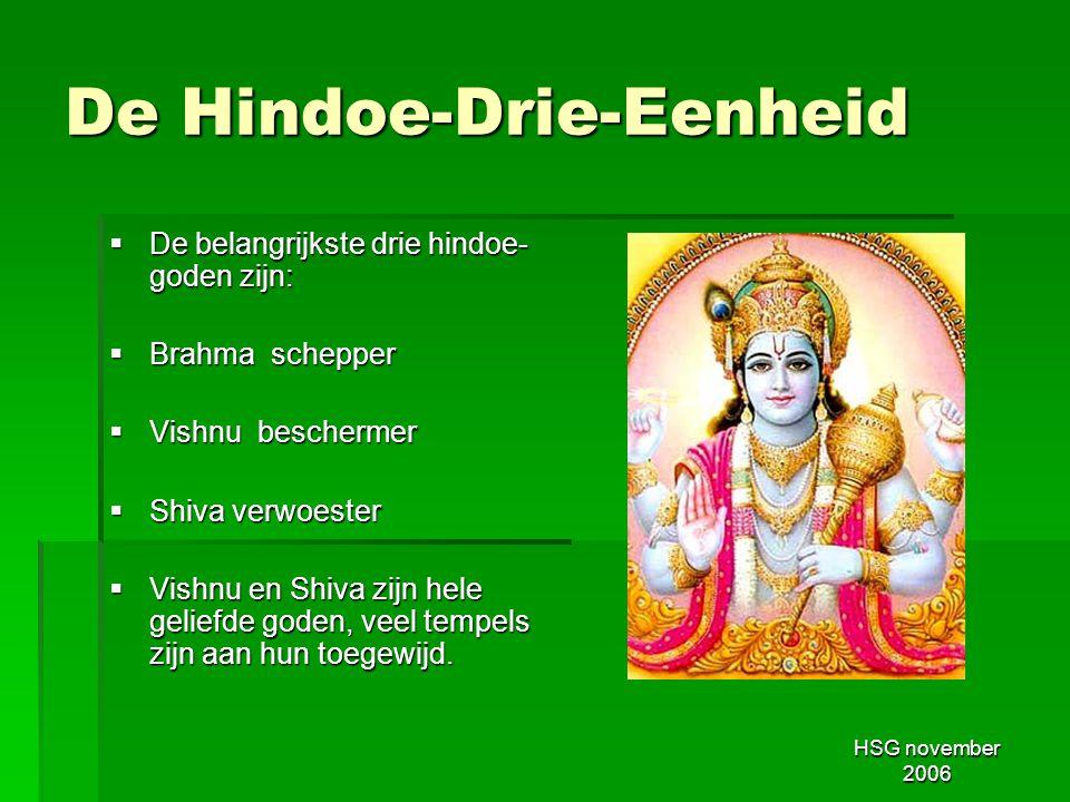 De Hindoe-Drie-Eenheid