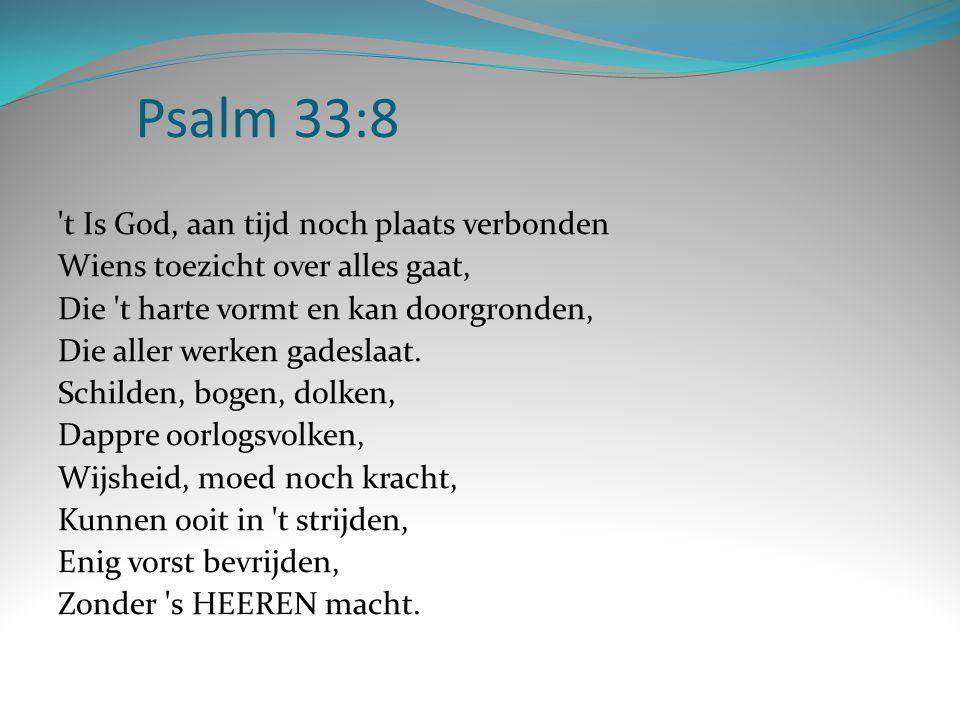 Psalm 33:8