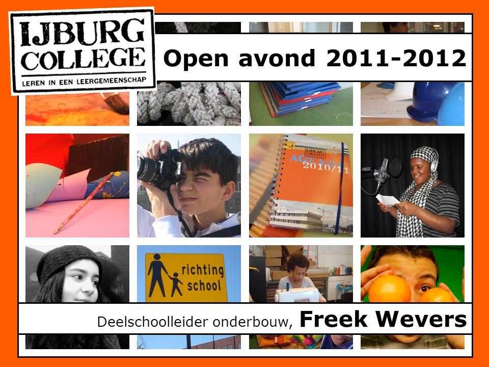 Open avond 2011-2012 Deelschoolleider onderbouw, Freek Wevers