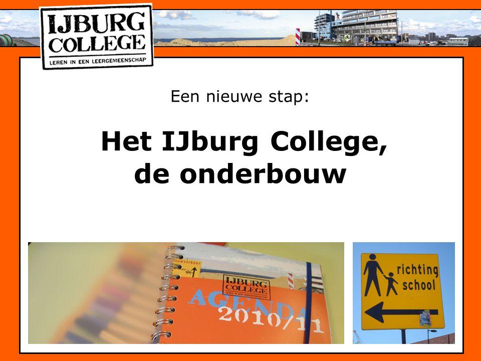 Een nieuwe stap: Het IJburg College, de onderbouw