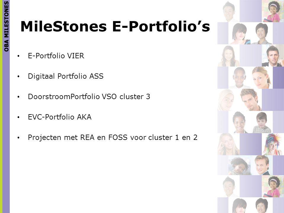 MileStones E-Portfolio's