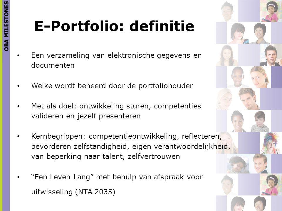 E-Portfolio: definitie