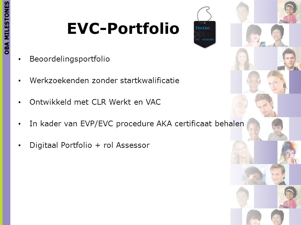 EVC-Portfolio Beoordelingsportfolio