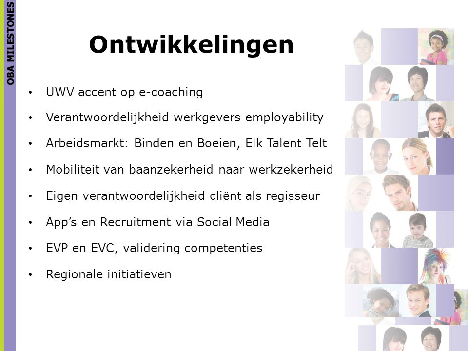 Ontwikkelingen UWV accent op e-coaching