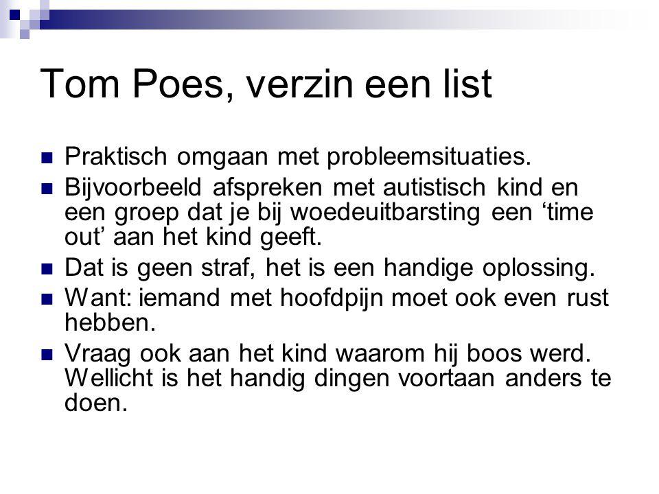 Tom Poes, verzin een list