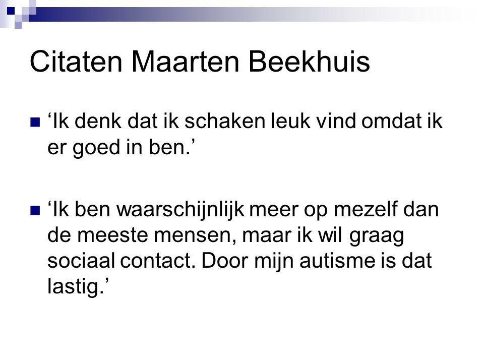 Citaten Maarten Beekhuis