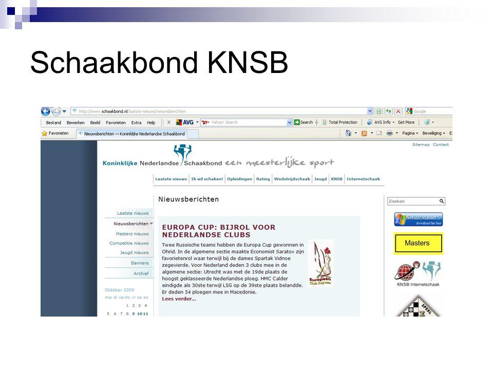 Schaakbond KNSB