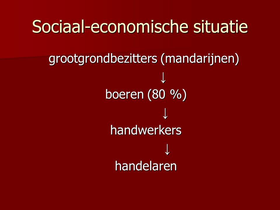 Sociaal-economische situatie