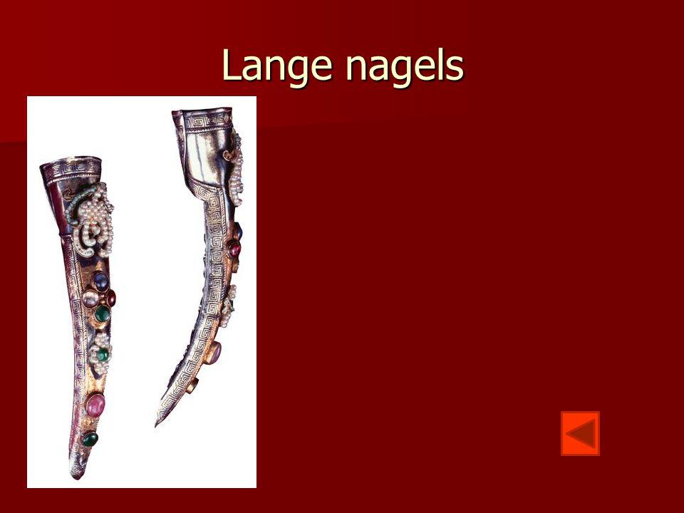 Lange nagels