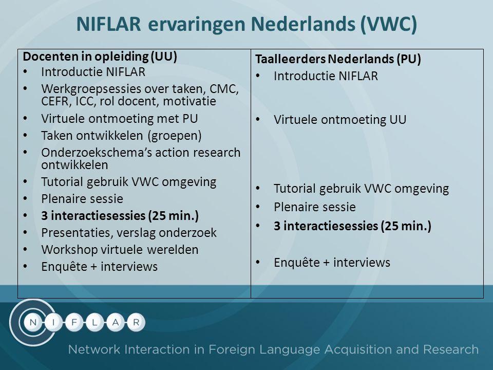 NIFLAR ervaringen Nederlands (VWC)